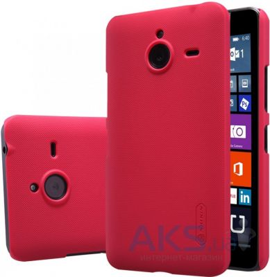 Чехол Nillkin Super Frosted Shield Microsoft Lumia 640XL Red