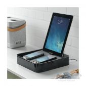 Вид 5 - Док-станция Bluelounge Sanctuary4 Multiple Charging Station Black (S4-BL)