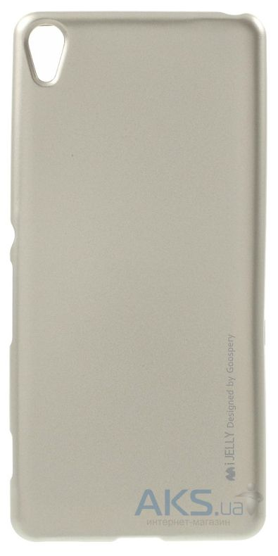 Чехол Mercury Jelly Metal Series Sony Xperia X, Xperia X Dual Gold