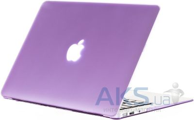 Чехол Kuzy Rubberized Case for MacBook Pro 15 Light Purple