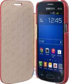 Вид 3 - Чехол Avatti Hori Grain Samsung G350 Red