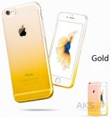 Вид 3 - Чехол Hoco Black Gradient Series Apple iPhone 6, iPhone 6S Yellow