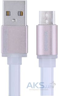 Кабель USB Remax Colourful micro USB White (RC-005m)
