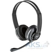 Гарнитура для компьютера Trust Zaia Headset Black