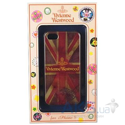 Чехол Vivienne Westwood Case Flag UK Apple iPhone 5, iPhone 5S, iPhone 5SE