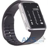 Умные часы SmartYou GT08 No NFC Silver with Black strap (SWGT08S)