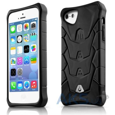 Чехол ITSkins Inferno for iPhone 5C Black (APNP-INFNO-BLK1)