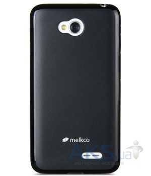 Чехол Melkco Poly Jacket TPU case for LG L80 Dual/D380 Black