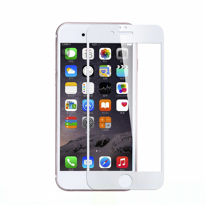 Защитное стекло IMAX 3D glass Apple iPhone 7, iPhone 8 White