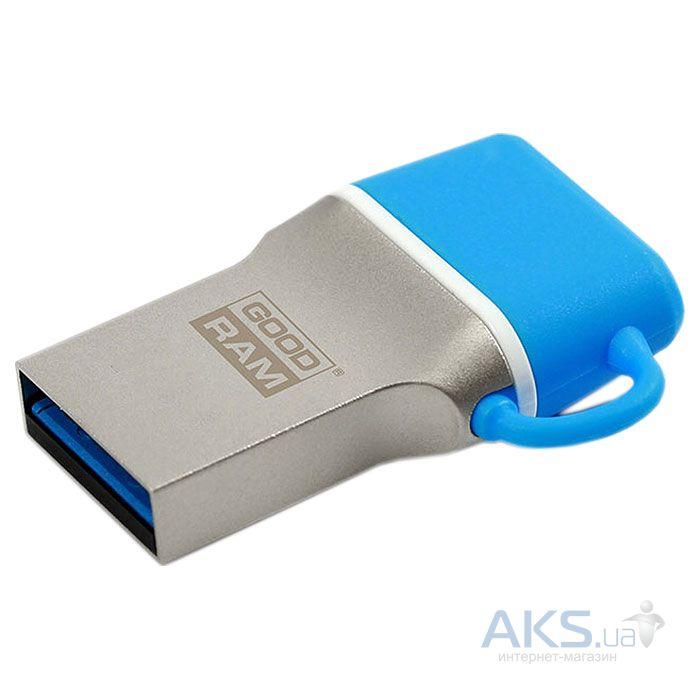 Флешка GooDRam 16 GB ODD3 Blue (ODD3-0160B0R11)