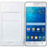 Вид 4 - Чехол Samsung Flip Wallet Cover G530 Galaxy Grand Prime White (EF-WG530BWEGRU )
