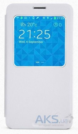 Чехол Nillkin Stylish Leather Series Samsung N9000, N9002, N9005, N9006 Galaxy Note 3 White