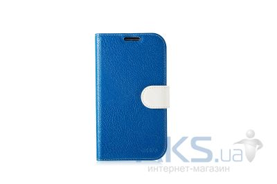 Чехол Gissar Garden For Samsung Galaxy I9500 S4 Navy