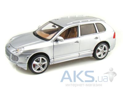 Автомодель Maisto Porsche Cayenne Exclusive Turbo (31113) Серебристый