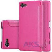 Чехол Nillkin Sparkle Leather Series Sony Xperia Z5 Compact E5823 Pink