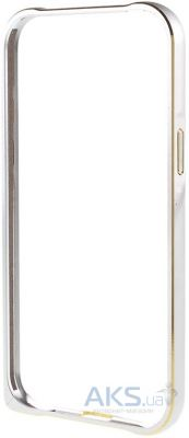 Чехол New Metal Slim Bumper Samsung J700 Galaxy J7 Silver