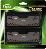 Вид 2 - Оперативная память Team DDR3 16GB (2x8GB) 1866 MHz Dark Series Black (TDKED316G1866HC10SDC01)