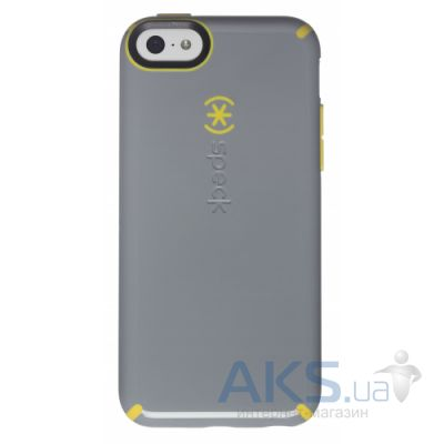 Чехол Speck CandyShell Case for iPhone 5C Nickel Grey/Caution Yellow (SPK-A2430)