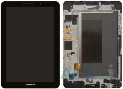 Дисплей для планшета Samsung P6800 Galaxy Tab 7.7 + Touchscreen with frame Original Black