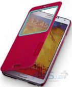 Вид 2 - Чехол Momax Flip View case for Samsung N9000 Galaxy Note 3 Red (FVSANOTE3R)