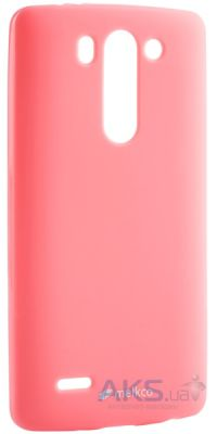 Чехол Melkco Poly Jacket TPU Case for LG G3S Beat/D724 Pink