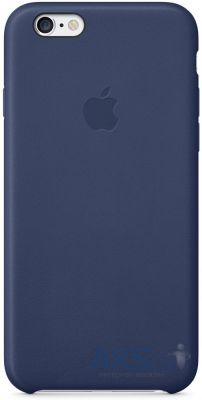 Чехол Apple Leather Case for iPhone 6 Plus Midning Blue (MGQV2)
