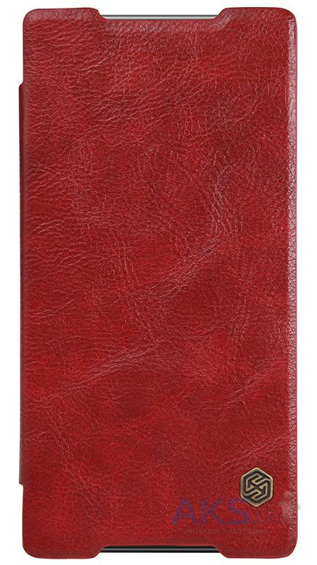 Чехол Nillkin Qin Leather Series Sony Xperia Z5 Premium Red