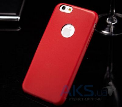 Чехол Mooke PU Case for iPhone 6/6S Red