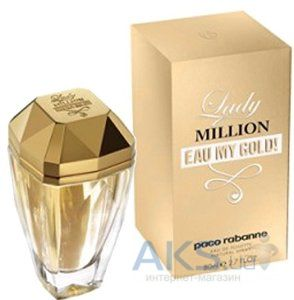 Paco Rabanne Lady Million eau My Gold Туалетная вода 50 мл