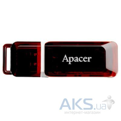 Флешка Apacer Handy Steno AH321 black-red (AP32GAH321R-1)