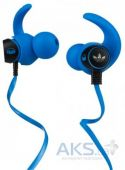 Наушники (гарнитура) Monster Adidas Originals by Monster® In-Ear, Apple ControlTalk Blue
