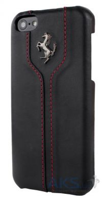 Чехол Ferrari Montecarlo leather cover case for iPhone 5C Black (FEMTHCPMBL)
