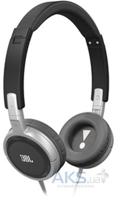 Наушники (гарнитура) JBL On-Ear Headphone T300A Black/Silver (T300ABNS)