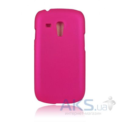 Чехол Plastic cover case for Samsung i8190 Galaxy S3 mini Pink