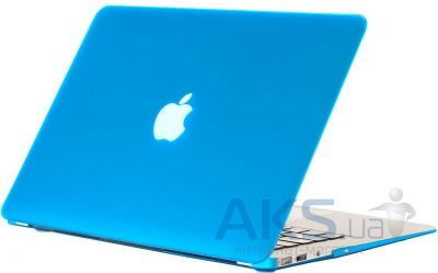 Чехол Kuzy Rubberized Plastic Case for MacBook Air 11 Aqua