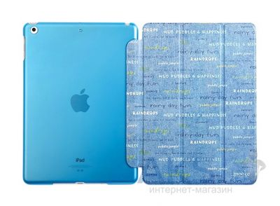 Чехол для планшета Mooke Painted Case Apple iPad Air Letters
