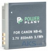 Вид 2 - Аккумулятор Canon NB-4L 850mAh (DV00DV1006) PowerPlant