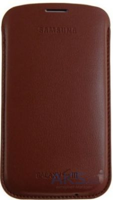 Чехол Samsung Leather Pouch для Galaxy I9300 Galaxy S3 Light Brown(EFC-1G6LDECSTD)
