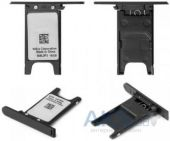 Держатель SIM-карты Nokia Lumia 800 Black