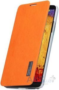 Чехол Rock Elegant Series Samsung N9000 Galaxy Note 3 Orange