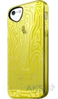 Чехол ITSkins Ink for iPhone 5/5S Yellow (APH5-NEINK-YELW)