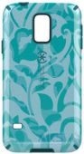 Вид 2 - Чехол Speck CandyShell for Samsung G900 Galaxy S5 Inked WallFlowers Blue/Atlantic Blue (SP-SPK-A2858)