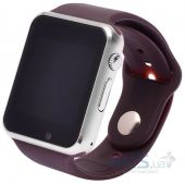 Смарт-часы (Smart Watch) UWatch A1 (Silver with Brown)