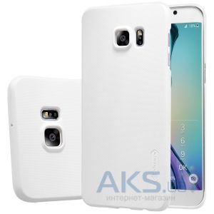 Чехол Nillkin Super Frosted Shield Samsung G928 Galaxy S6 Edge Plus White