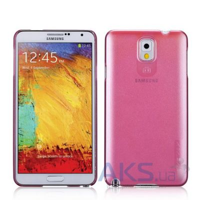 Чехол Momax Pearl Ultra Thin cover case for Samsung N9000 Galaxy Note 3 Pink (CUSANOTE3PP)