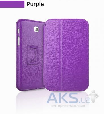 Чехол для планшета Yoobao Executive leather case for Samsung T210/211 Galaxy Tab 3 7.0 Purple (LCSAMP3200-EPP)