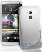 Чехол Original TPU Duotone HTC One Max White Matte