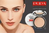 Вид 3 - Пудра Pupa Extreme Matt Powder Foundation №001 - Ivory