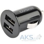 Зарядное устройство Capdase Dual USB Car Charger Pico G2 Black (1 A) (CA00-PG01) Black