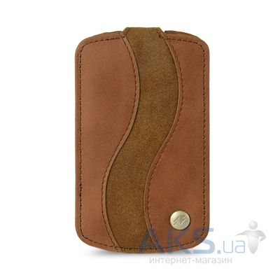 Вид 2 - Чехол Melkco Leather Case Jacka SE CV/SB for BlackBerry Bold Touch 9900/9930 Brown (BBB990LCCJS1BNCVBNS)